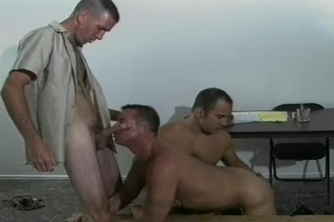Four filthy homosexual Soldiers fucking In Cantine