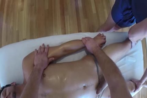 MenPOV wild Threeway Massage And fuck With toy