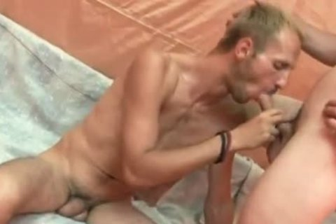 skinny blond twink gets mouth And anal drilled
