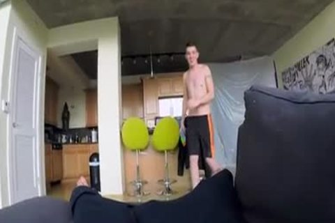 lovely twink receives gangbanged By POV