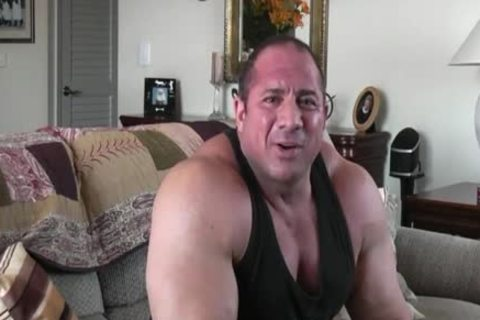 homosexual Powerlifter Tony Maxim Interview (no Sex)