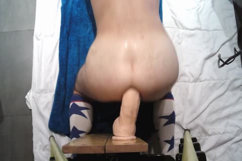 Playing With John Holmes sex tool