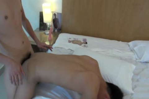 A homosexual Sex Scene Where Two twinks engulf And pound