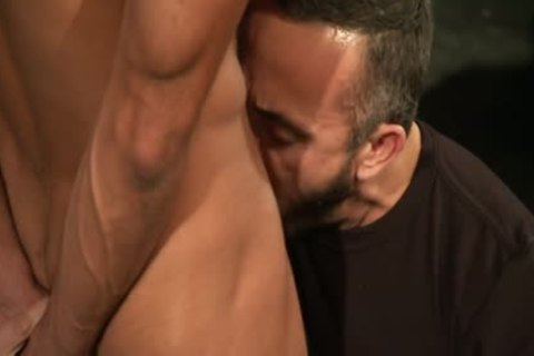 Thomas Shows Allesio His Monster Uncut knob!