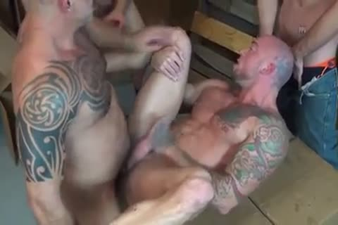 Sean Duran GoGo group-sex gay Sex