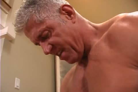 A couple Of daddy Body Builders Are All Over Each Other