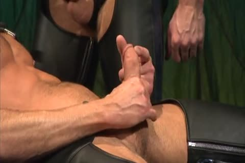Leather boning And Fisting: Colin Steele & Rick Van Sant