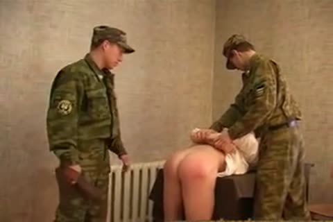 Russian Army drubbing And fucking