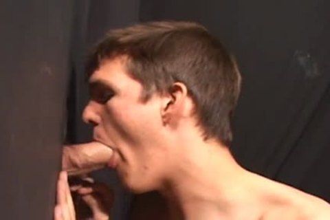 Glory hole sucking Nick