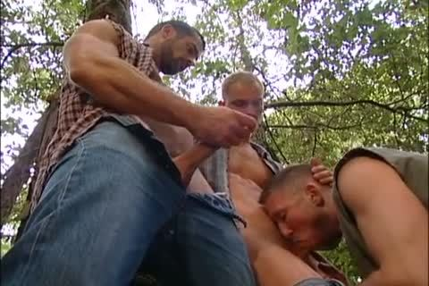plowing And Fisting In The Forest: Dirk Jager, Lars Svensen & Rick Van Sant