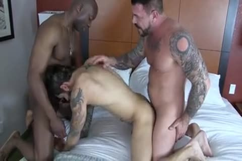 Champ Robinson, Draven Torres, Rocco Steele - Awesom three-some bareback