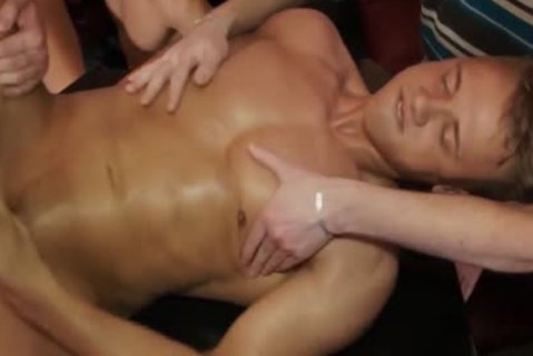 Euro amateur Barebacked At Party while jerking off