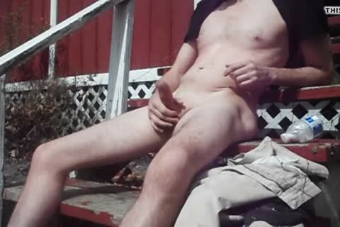 Outdoor fun On Sunny Day, cum discharged