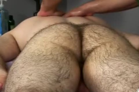 hairy Bear Body And Genital Massage 2