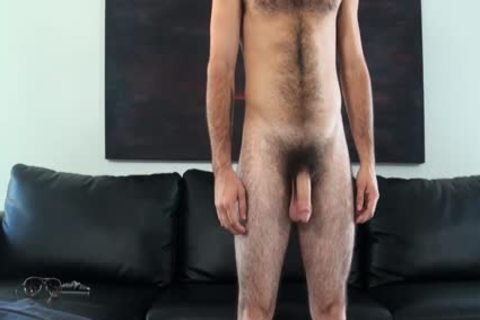 HD GayCastings - Josh hairy arsehole Is nailed By The Casting Agent