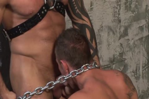 raw Leather Muscle bang