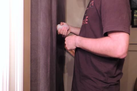 Straight 22 Year daddy With An 8 Inch Cut Trimmed 10-Pounder Comes By My Gloryhole