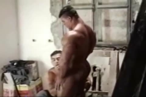 Brasil Bodybuilders large butthole plowed By Hunk