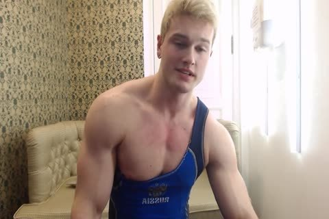 slutty young Russian Muscle Hunk