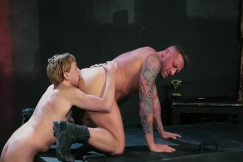 Tattoo Military Fetish And ejaculation