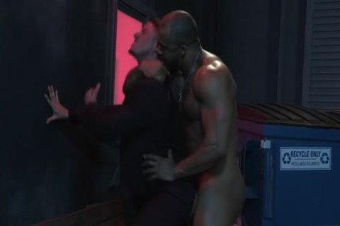 large cock Son fellatio With cock juice flow