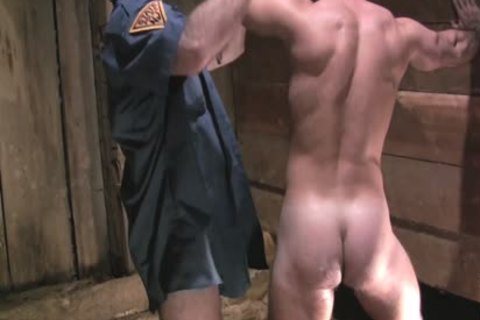 Two lustful Policemen Fist nail And Sodomise