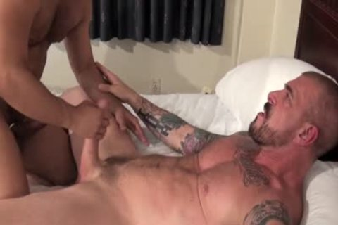 Rocco Steele Has A unprotected booty pounding