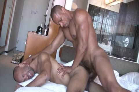 Two powerful gay guys Sodomize Each Other