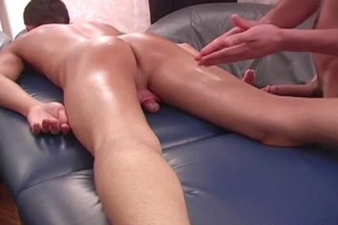 A Sensual Massage For This homosexual boy