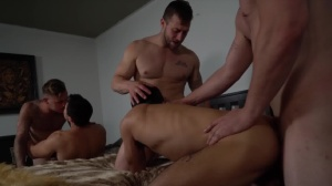 Pass The Bottom - Brian Michaels with Axel Kane pooper Hook up