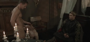 homosexual Of Thrones - Johnny Rapid with Gabriel Cross butthole Hook up