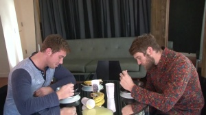 Look What The boyz Dragged In - Colby Keller and Connor Maguire ass Love