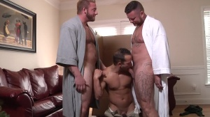 My Two Daddies - Charlie Harding and Luke Adams butt sex
