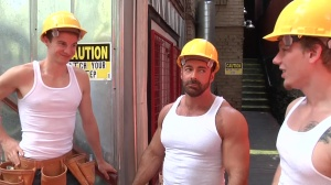 Daddy's Workplace - Johnny Forza & Matthew Ryder butthole Hump