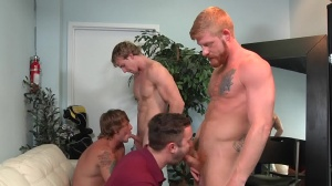 Swingers - Cameron Foster and Bennett Anthony ass Nail
