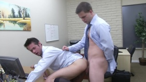 The Office whore two - Mike De Marko and Jimmy Johnson anal Nail