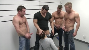 The Line Up - Landon Conrad, Trevor Knight ass plow