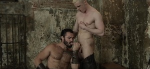 homosexual Of Thrones - Jessy Ares with JP Dubois ass Nail