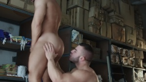 Heart's desire - Francois Sagat with Diego Reyes butthole Nail