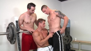 Muscle Worship - Phenix Saint and Johnny Rapid ass plow