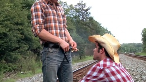 Going West - Johnny Rapid with Robbie Rivers anal sex
