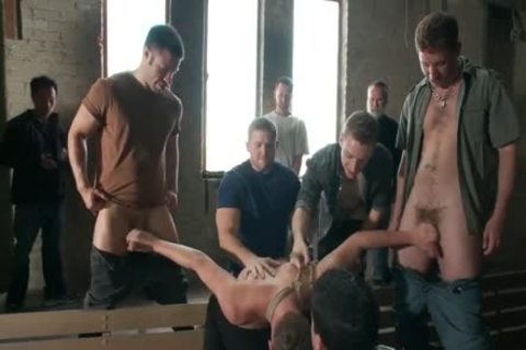 Bullies bound, Gag, And Edge young man - homosexual blonde twink tied Up