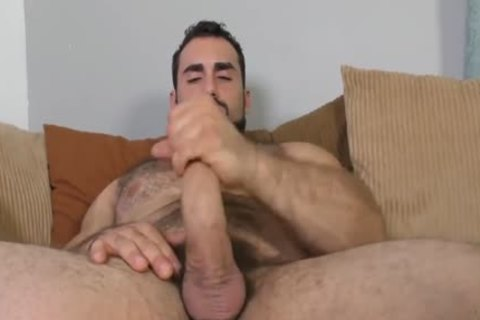 Jaxton Wheeler jerking off Is hairy weenie