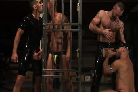 piss And cum And Cages