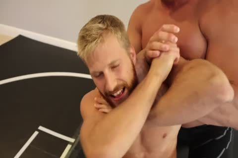tight Muscle Hunks Wrestling