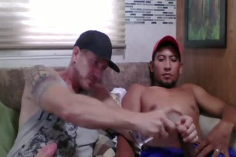 Straight Latino Construction Worker receives First handjob From A chap (Martin 2)
