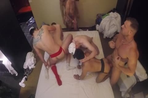 orgy With Armond Rizzo, Austin Wolf, Seth Santoro & Others