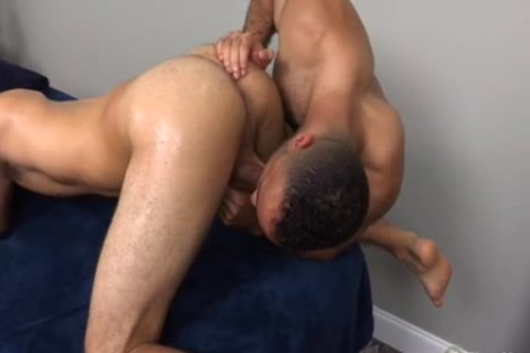 A rimming Addicted Masseur gets What that chap deserves