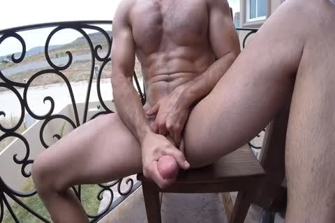 Brock Cooper nude Coffee & Balcony Jackoff