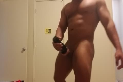 Flesh Light And wang Pumping Hard Post Waxing My butthole And Balls